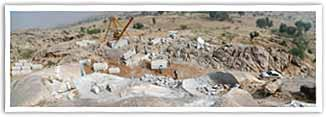 Indian Granite Quarry